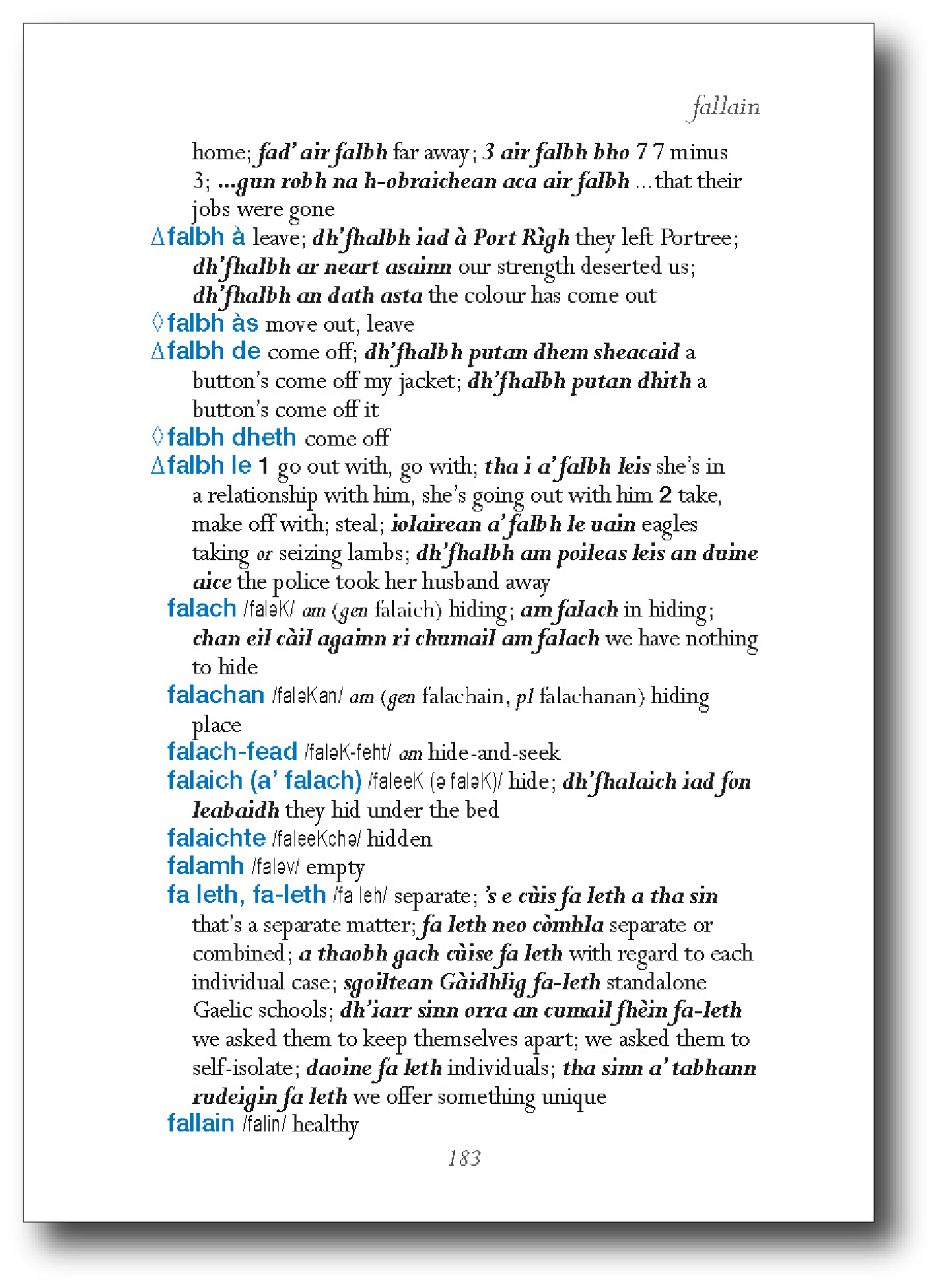 Gaelic GOLD Decoder sample page 1